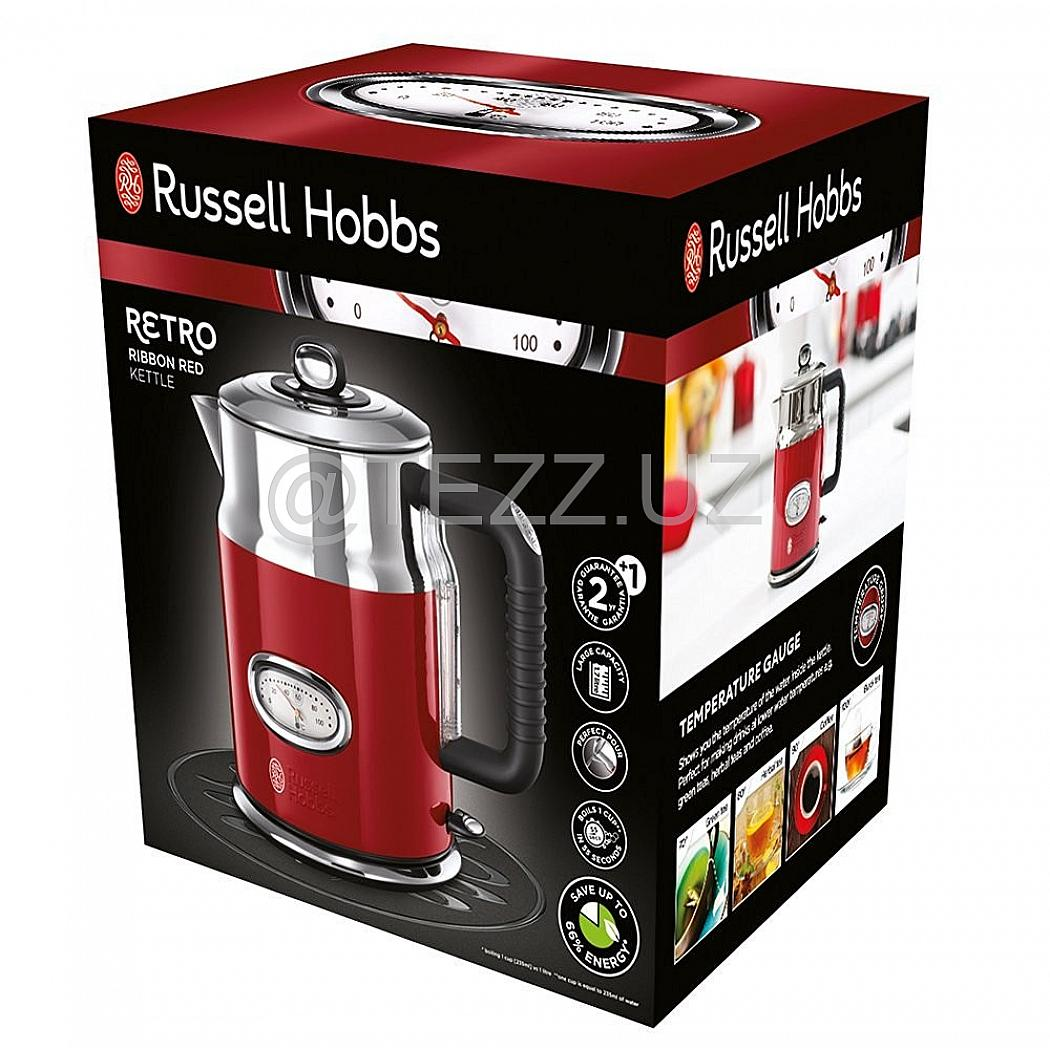Электрочайник Russell Hobbs 21670-70 Retro Red Kettle