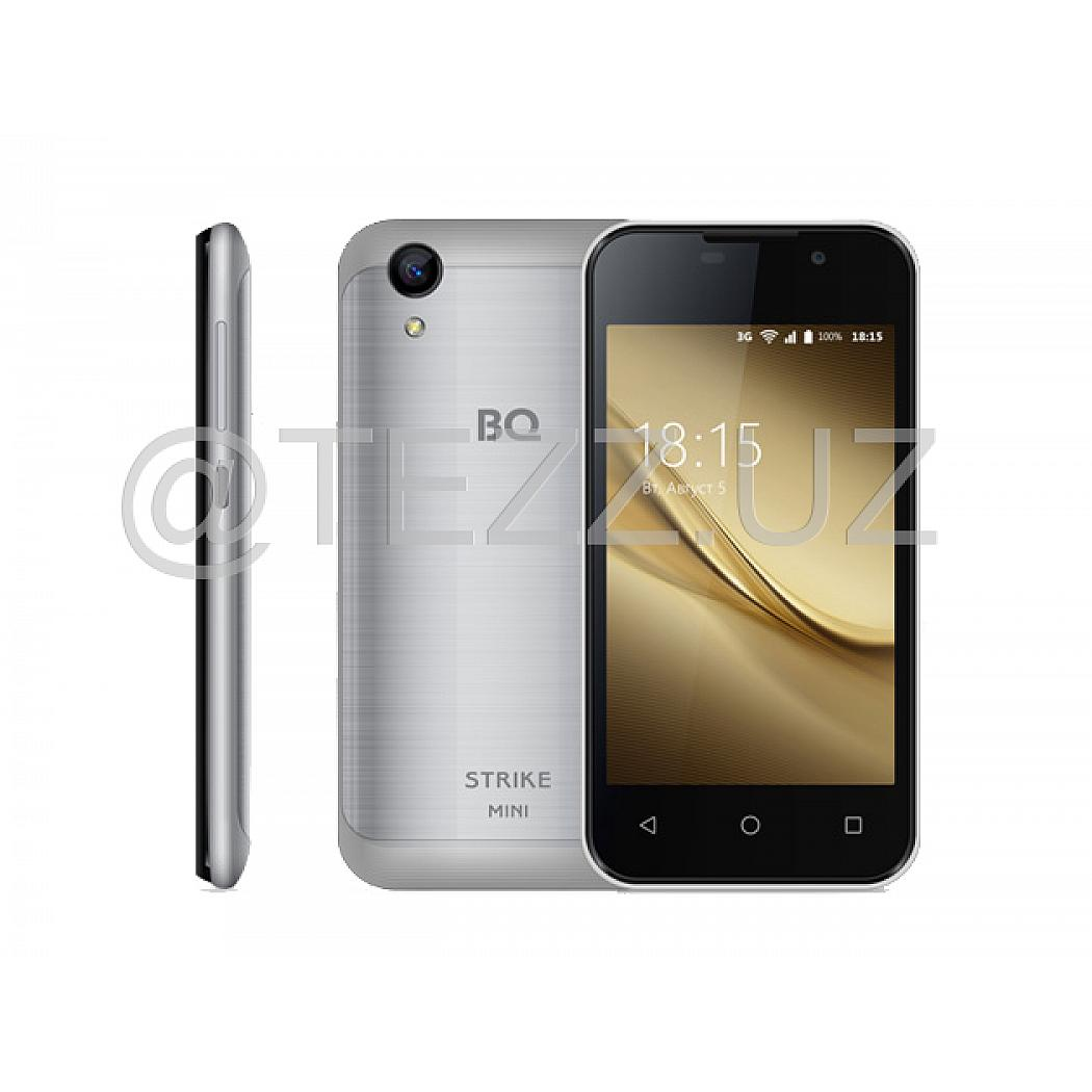 Смартфоны BQ 4072 Strike Mini Silver Brushed