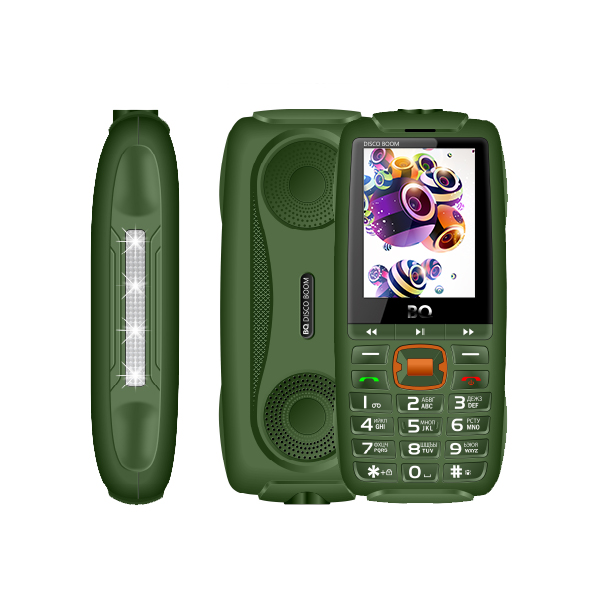 Телефоны BQ 2825 Disco Boom Dark Green